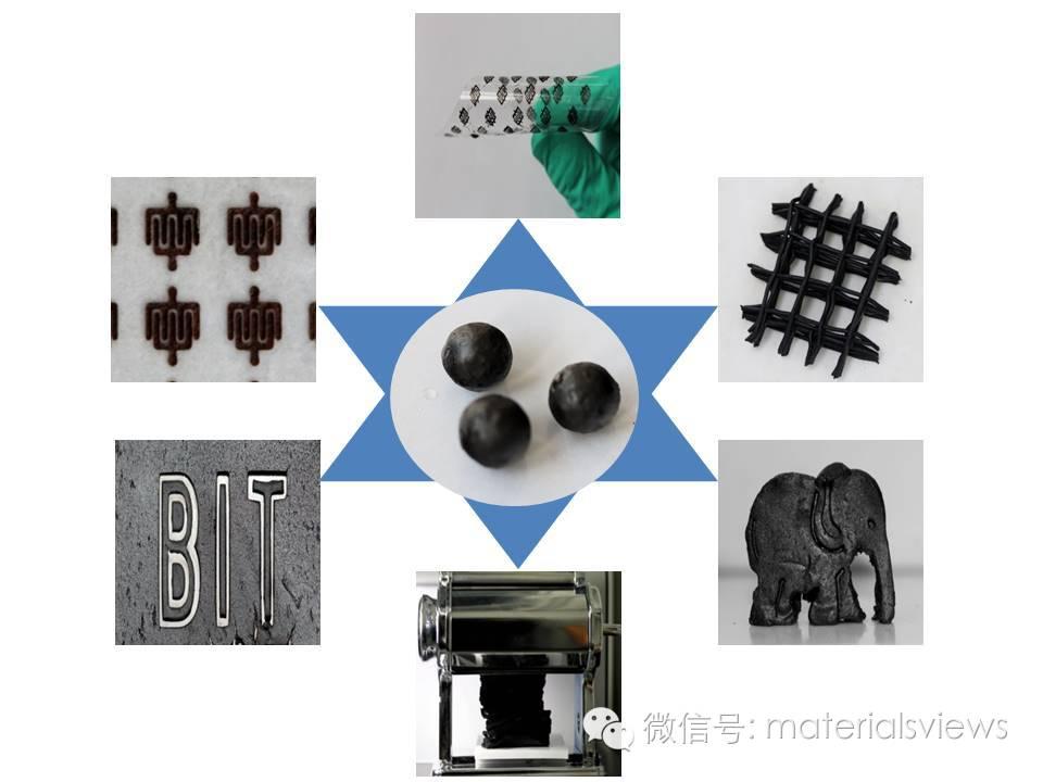 橡皮泥状氧化石墨烯材料
