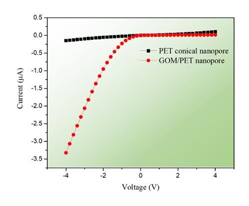 近代物理所在纳米孔的离子选择性增强传输方面取得新进展