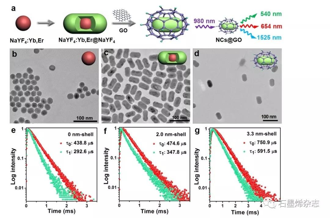 中科院福建物质结构研究所陈学元课题组--氧化石墨烯修饰镧系纳米探针在肿瘤靶向可见/近红外发光成像中的应用